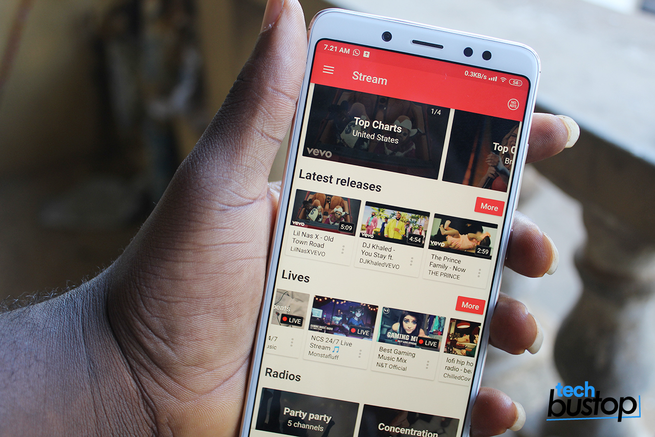 Stream App Let's You Listen to YouTube Music on Your Phone