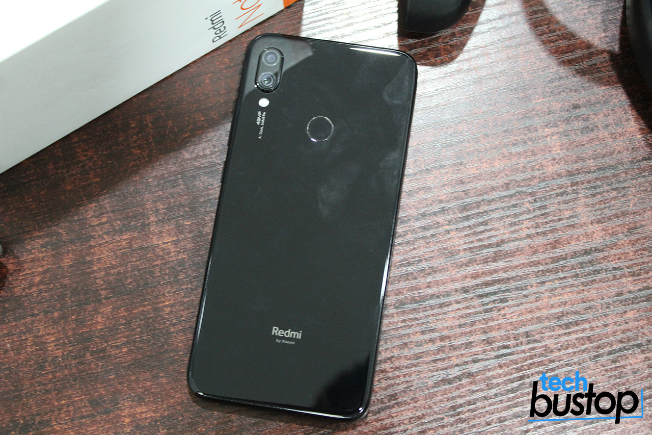 redmi note 7 back pictures nigeria