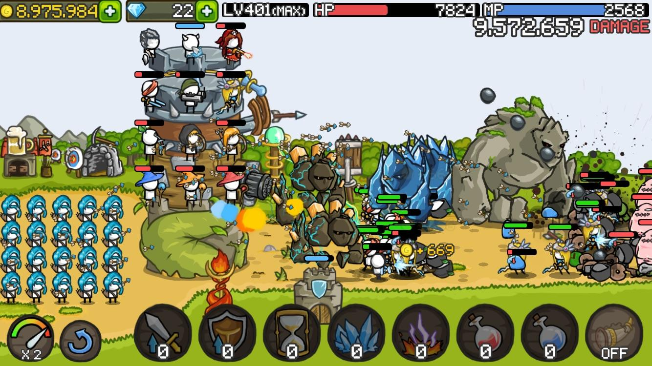 grow castle best tower defense game