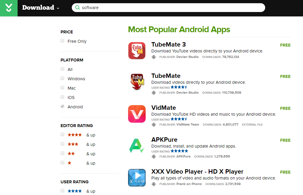cnet android apps download